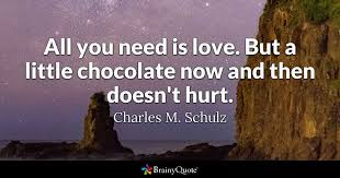 charles m schulz all you need is love but a little