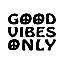 Good Vibes Only Peace Jdm Japanese Vinyl Sticker