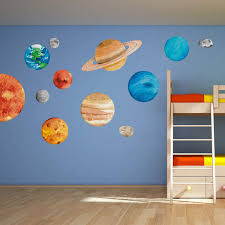 Solar System Wall Decals Target Stickers Etsy Glow In The Dark India Design Peel And Stick Amazon Vinyl Vamosrayos