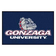 Fanmats Ncaa Gonzaga University 19 In X 30 In Starter Mat Area Rug 11748 The Home Depot