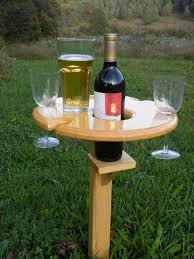 outdoor wine glass holder we now have a