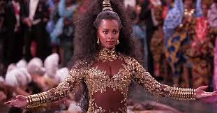Vanessa Bell Calloway of 'Coming to America' Looks like a Queen in Black  Pearl-Embroidered Gown