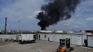 Incendio a Marghera: suonano le sirene