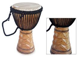 decor ideas create a djembe drum end table