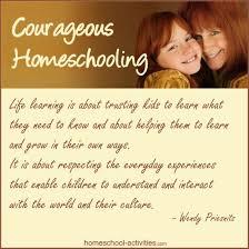 Home Schooling Methods: Trust Your Children