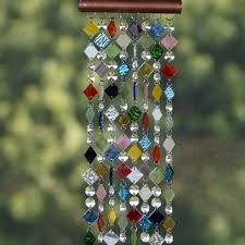 best colored glass for wind chimes