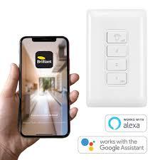 brilliant smart wifi remote control
