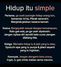 be inspired on simple of life dagelan quotes hidup
