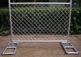 Temporary Chain Link Fence Solution For Construction Sites
