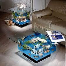 aquarium coffee table design ideas