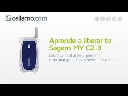 Liberar tu Sagem My C2 3 - YouTube