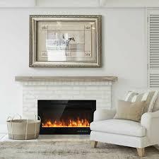 fire fireplace widescreen flicker flame
