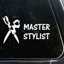 Amazon Com Master Hair Stylist Skull Hairdresser Hairstylistauto Sticker Vinyl Car Decal Decor For Window Bumper Laptop Walls Computer Tumbler Mug Cup Phone Truck Car Accessories Lutymvo9c4up Baby