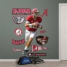 Get Price For Ncaa Alabama Crimson Tide Aj Mccarron Fathead Wall Decal Erasmo Dela Dfer