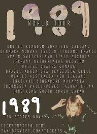 taylor swift es 1989 tour image