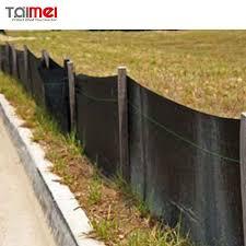 Pp Woven Geotextile Fabric Erosion Control Construction Silt Fence Buy Geotextile Fabric Erosion Control Fence Construction Fence Product On Alibaba Com