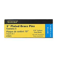Fence Pins 5 Inch X 3 8 Inch Galvanized Brace Pins Zareba