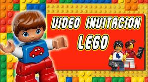 Lego Video Invitacion Feliz Cumpleanos Youtube
