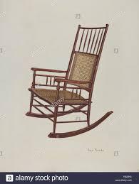 Shaker fauteuil à bascule. En date du : ch. 1940. Dimensions : hors tout :  45,9 x 35,