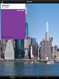 wallpaper city guide on the app