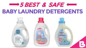 5 best safe baby laundry detergents