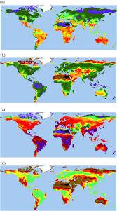diversity of potential world vegetation