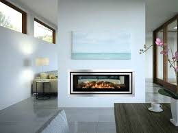 double sided gas heaters fireplace two