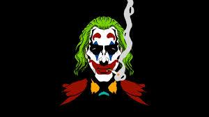 joker smoking wallpaper hd minimalist