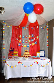 circus theme party ideas