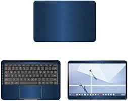 Amazon Com Decalrus Protective Decal For Google Pixelbook Go 13 3 Screen Laptop Blue Texture Brushed Aluminum Skin Case Cover Wrap Bagooglepixelbkgo 13blue Computers Accessories