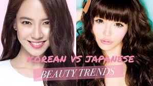 korean vs anese beauty trends