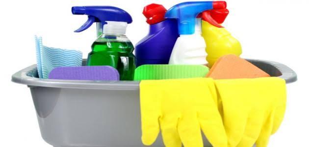 خطواتنا فى تنظيف المنازل