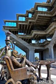 Dr Seuss At The Geisel Library At Uc San Diego La Jolla Wall Mural Pixers We Live To Change
