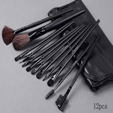 m a c makeup brush kit 12pcs