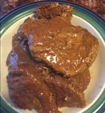slow cooker cube steaks with gravy