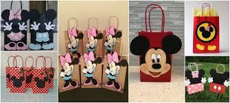 Aprende Como Hacer Bolsas De Mickey Y Minnie Mouse Para Cumpleanos
