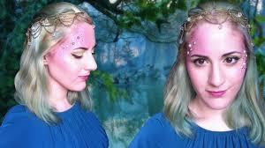 fairy nymph or mermaid makeup tutorial