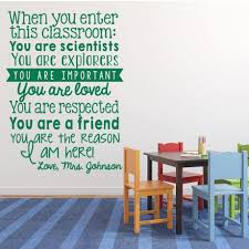 When You Enter This Classroom Personalized Vinyl Decal For Teachers