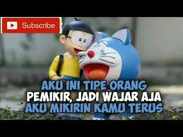 kata kata caption quotes kekinian doraemon story wa