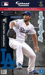 Fathead Los Angeles Dodgers Clayton Kershaw Teammate Wall Decal Dick S Sporting Goods