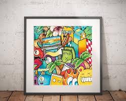 Original Pop Art Painting For Kids Room Decor Canvas Art For Etsy In 2020 Pop Art Painting Pop Art Canvas Colorful Wall Art
