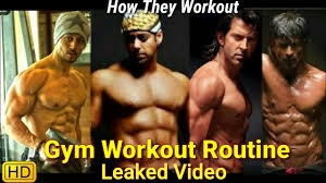gym workout routine of stars you know