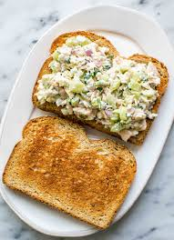 Tuna Sandwich {Tip: Use Cottage Cheese ...