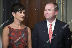 Mick Mulvaney R his wife Pamela West Editorial Stock Photo - Stock Image |  Shutterstock