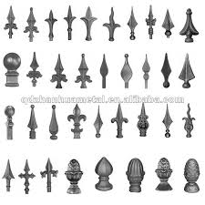 Outdoor Fence Spear Points Wrought Iron Buy Wrought Iron Wrought Iron Railing Parts Wrought Iron Fence Product On Alibaba Com