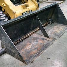 a skid steer bucket addition