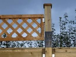 Adding Trellis To A Fence Privacy Fence Designs Fence Design Privacy Fence Landscaping