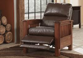 santa fe bark high leg recliner