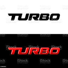 Turbo Word Logo Sport Car Decal With Text Turbo Stock Illustration Download Image Now Istock