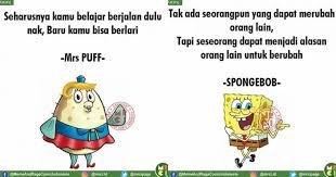 kata kata bijak ala spongebob dan kawan kawan ini ngena banget